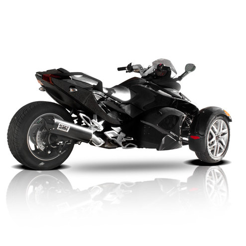 can am spyder rs motorcycle exhaust hmf racing. Black Bedroom Furniture Sets. Home Design Ideas