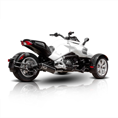 can am spyder f3 motorcycle exhaust hmf racing. Black Bedroom Furniture Sets. Home Design Ideas
