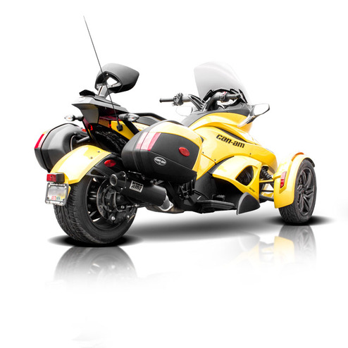 can am spyder sts motorcycle exhaust hmf racing. Black Bedroom Furniture Sets. Home Design Ideas