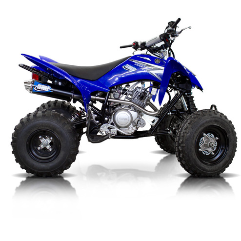 yamaha raptor 125 atv exhaust hmf racing. Black Bedroom Furniture Sets. Home Design Ideas
