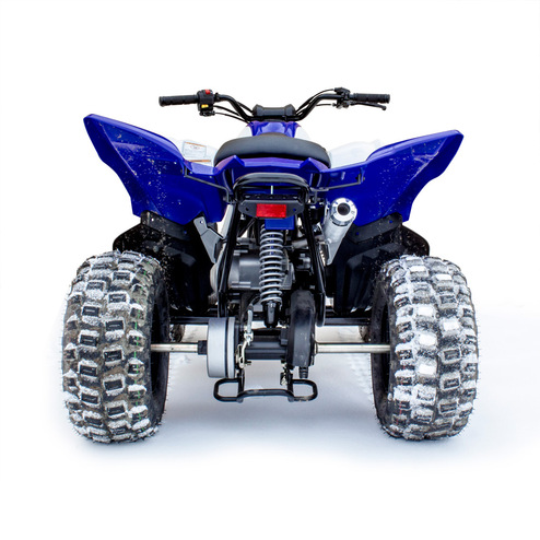yamaha raptor 90 atv exhaust hmf racing