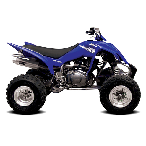 yamaha raptor 350 atv exhaust hmf racing. Black Bedroom Furniture Sets. Home Design Ideas