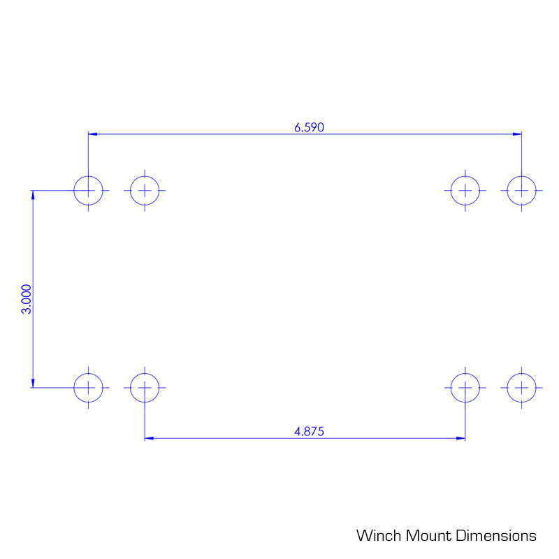 see winch mount dimensions