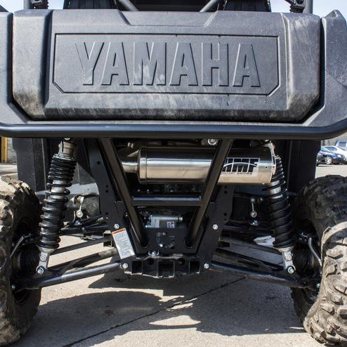 Yamaha Wolverine  Exhaust