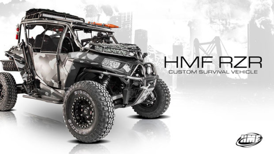 Hmf Blackout Available Custom Survival Rzr Polaris Rzr