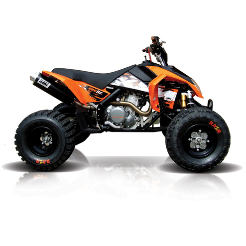 ktm ktm 450 525 xc atv exhaust hmf racing. Black Bedroom Furniture Sets. Home Design Ideas