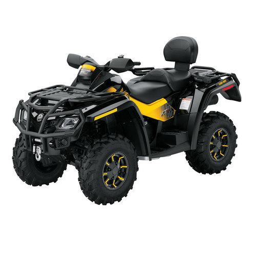 can am outlander 800 max atv exhaust hmf racing. Black Bedroom Furniture Sets. Home Design Ideas