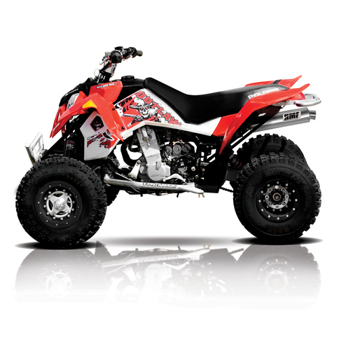 Polaris Outlaw 525 >> Polaris Outlaw 525 Irs Atv Exhaust Hmf Racing
