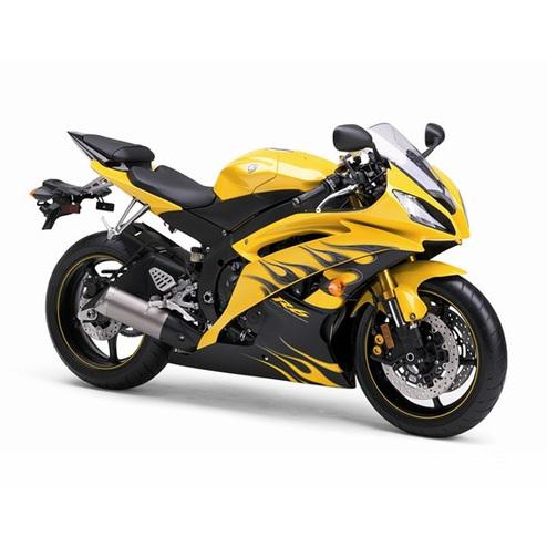 YamahaR R6 Motorcycle Exhaust