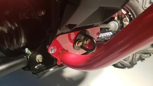 Defender U4 Front Bumper, Polaris RZR RS1 Instructions