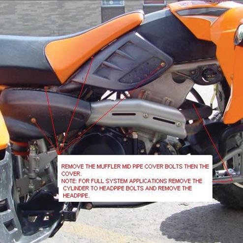 Polaris® Predator Full System Exhaust Instructions