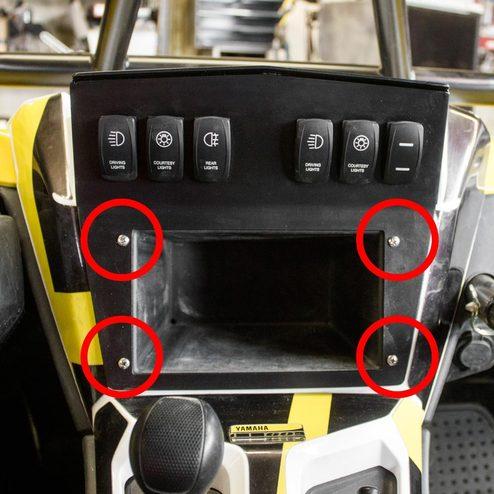 Tableau de bord, instructions Yamaha YXZ 1000R - Figure 2