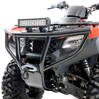 HMF Exhausts & Front Bumper on Honda Rancher 420