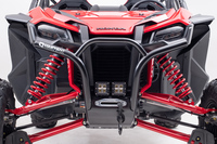 HMF features exhausts, bumpers, cargo racks and more for Honda Talon 1000R
